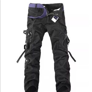 Other - Mens Army Trouser Cargo Pants Black